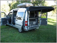 campervan conversion ford transit connect - Google Search