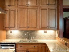 Fairmont inset kitchen cabinets – Maple Caramel Jute Glaze finish  | followpics.co