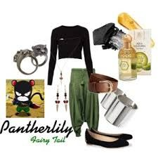 Outfit - Phanterlily Fairy Tail