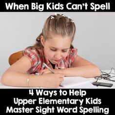 This blog post promotes the use of No Excuse Words and word walls for upper elementary students. Firm Foundations in Education