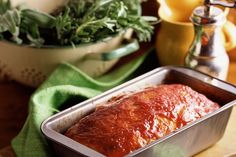 This is an old-fashioned Southern style meatloaf recipe with ketchup or bbq sauce. Crushed saltine crackers are used with ground beef to form the loaf.