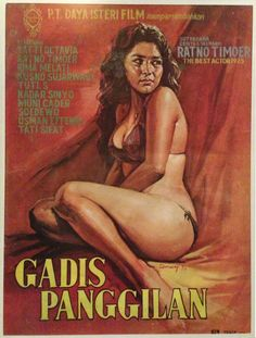 Poster film Indonesia 70an.