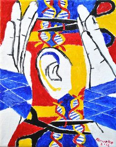 Nancy Rourke Paintings Man Made Hearing Disability Art, Disability Awareness, Arte Libra, Communication Pictures, Deaf Sign, Sign Language Art, Deaf Art, Deaf Culture, Signs