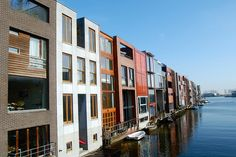 Transect T5 | Urban Center | Borneo townhouses by West 8 | Amsterdam