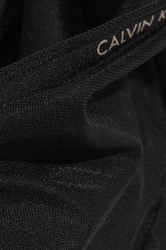 Calvin Klein Underwear - Sheer Marq Stretch Underwired Bra - Black - 36DD