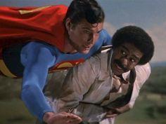 Superman 3 -- Richard Pryor as computer nerd First Superman, Superman Movies, Superman Family, Black Comics, Dc Comics, Superman Pictures, Original Superman, Christopher Reeve Superman, Famous Comedians