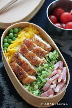 """The recent """"Nokke bento""""! Various - お弁当 - Bento Ideas Bento Recipes, Healthy Recipes, Bento Ideas, Easy Chicken Recipes, Asian Recipes, Clean Eating Prep, Chicken Tetrazzini Recipes, Japanese Lunch Box, Japanese Food"""