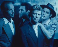 David Bowie and Tin Machine Tin Machine, David Bowie Pictures, Ziggy Played Guitar, Mick Ronson, The Thin White Duke, Beautiful Voice, Music Artists, Comedians, The Man