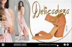 Sapato Feminino Salto Médio PretoGlitter Bárbara Krás