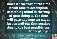 Earl Nightengale Quote 1