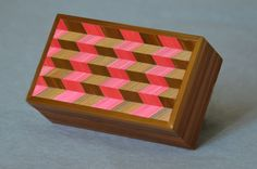 Marqueterie de paille. Straw marquetry box. marqueterie-de-paille.jimdo.com