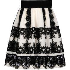 Alberta Ferretti Online Boutique ($1,130) ❤ liked on Polyvore featuring skirts, alberta ferretti, alberta ferretti pants, black pants, black trousers and black leggings