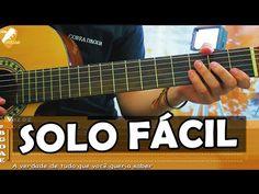 Aula de Violão Sertanejo SOLO - É com ela que estou (Cristiano Araújo) - YouTube