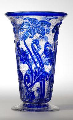 Faux Cameo Webb Vase   c. 1930's