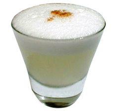 Pisco sour, Peru - Lime and Pisco liquor
