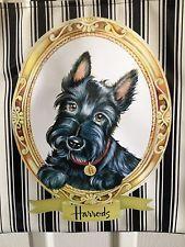 Harrods Scottie Scotty Dog Framed on Shopping Tote Handbag NWT