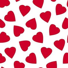 RUB133 LOVEHEARTS RED ON WHITE BASE | Printed Lycra Fabric | Printed Fabric | Stretch Fabric | Funki Fabrics | Hearts