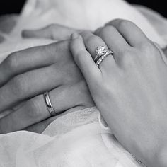 #mulpix If you're looking for engagement ring or wedding band ideas, you can never go wrong with a timeless and elegant six-prong solitaire engagement ring and eternity ring combo, like this sweet snap from Tiffany & Co.'s Will You campaign. - Felicia #tiffanyandco #eternity #solitaire #sixprong #classic #love #romantic #willyou #rings #weddingrings #weddingbands #engagementring #tiffanysetting #brides #bridal #wedding #weddings