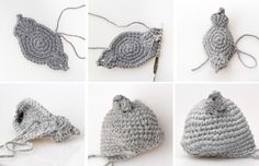 Кошка амигуруми. Описание вязания крючком (5)