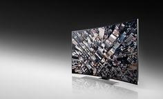 Samsung présente LE premier téléviseur UHD incurvé au monde ! Doté d'un écran 105 pouces, d'un affichage 21:9 pour 11 millions de pixels, soit une résolution de 5120x2160. Récompensé par un CES Innovations Design And Engineering Award, le téléviseur U8500, avec son design soigné, repousse les limites de l'immersion. - Prix : NC - www.samsung.com