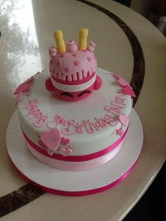 Yummy Shopkins Wishes cake! #shopkins #birthday #cake