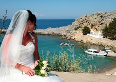 St Pauls Bay Wedding Venue - Rhodes is one of the most historic islands in Greece.