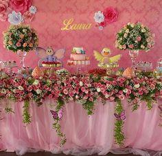 Festa Jardim encantado decoração e personalizados