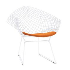 The Bertoia diamond lounge chair has been in continuous production since 1952. Looks great in so many spaces, indoors or out.
