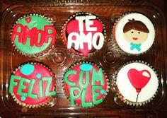 Cupcakes de melocoton