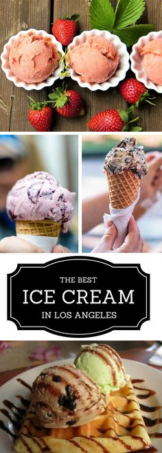 Looking for the best ice cream in Los Angeles? We've collected our favorite 15 spots around the city, all in one place! Click on the link to discover some of the best ice cream hot-spots in the city :)