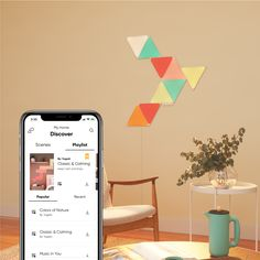 Products » Nanoleaf Shapes   USA » Consumer IoT & LED Smart Lighting Products Nanoleaf Designs, Nanoleaf Lights, Smart Kit, Smart Home, Smart Panel, Neon Bleu, Yes Music, Music Visualization, Decorating Rooms