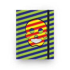 Caderno Caveira POP de @alexoliveiradesign | Colab55