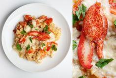 chili lobster risotto