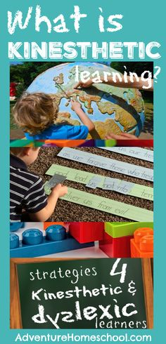 What is Kinesthetic Learning? Series Teaching Dyslexic and Kinesthetic Learners