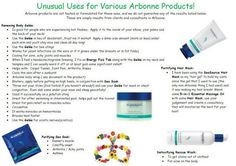 Unusual Uses for Arbonne Products (3)