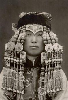 A Mongolian Aristocrat. ca. 1933 - 1937 | Photo taken by Hélène Hoppenot