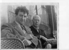 The friendship that Abraham Rattner, left, and Henry Miller began in Paris…