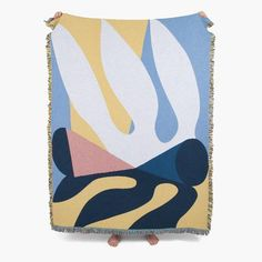 The December Throw by Slowdown Studio Designed by Dutch artist Tymo Grijpma, the December throw is a woven cotton blanket that is suitable for the Studio Weave, Textiles, Dutch Artists, Cotton Blankets, Jacquard Weave, Stay Warm, Picnic Blanket, Unique Gifts, December