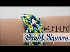 KUMIHIMO PLATE #2 - KUMIHIMO CUADRADO #2 - YouTube