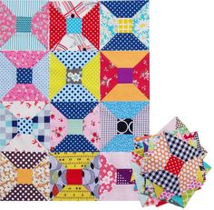 Spool Blocks | Red Pepper Quilts