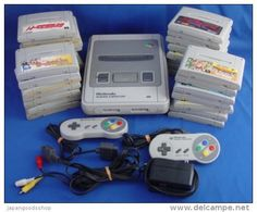 Super Famicom ( Japanese ) + 30 Games ( Used ) http://www.japanstuff.biz/ CLICK THE FOLLOWING LINK TO BUY IT ( IF STILL AVAILABLE ) http://www.japanstuff.biz/Consoles/Consoles002.html