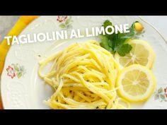 Un primo piatto furbo che si prepara in pochissimo tempo. Tagliolini al limone 🍋 - YouTube Spaghetti, Ethnic Recipes, Food, Fine Dining, Essen, Meals, Yemek, Noodle, Eten