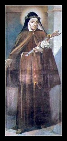 Saint Mary Frances of the Five Wounds of Jesus pray for us and Naples, Italy.  Feast day October 6.