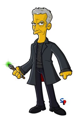 Springfield Punx: 12th Doctor casual!