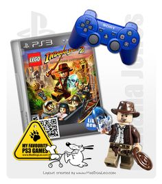 Playstation PS3 games by Sony - Lego, Indiana Jones - MadDogLeo.com