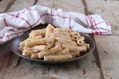Pasta con mousse al prosciutto cotto