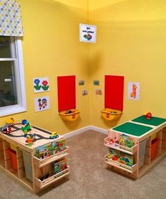 IKEA products for your home daycare, – kids playroom ideas Trofast Ikea, Decoration Creche, Dorm Room Storage, Storage Organization, Storage Ideas, Wall Storage, Ikea Storage, Nursery Organization, Storage Cabinets