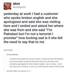Stop the phobia, please. <---- I'm Pakistani too and I'm proud of it. And I'm definitely NOT a terrorist.
