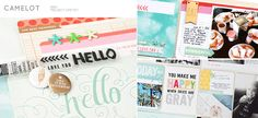 Sneak Peek of May's Camelot Project Life kit at @Studio_Calico