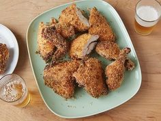 Get /etc/sni-asset/food/people/person-id/0c/be/0cbe4bc6e48014cf92b83275100700b1's Pat and Gina's Oven Fried Chicken Recipe from Food Network